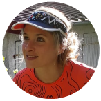 Manon Bohard ambassadrice des Boucles Roses Trail Besancon
