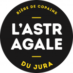 logo astragale biere bio boucles roses trail besancon
